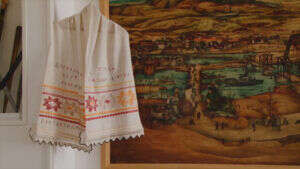 Tekeriški peškir vredan eksponat