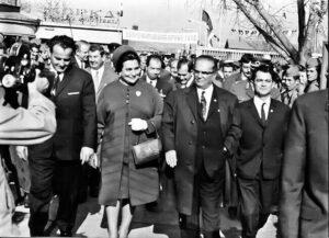 """Titova poseta """"Zorki"""" 1969. godine (Foto Arhiv šabačkog muzeja)"""