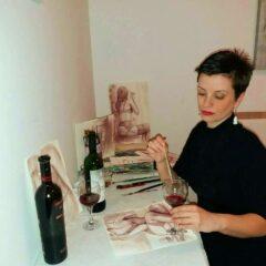Umetnica koja je savladala ćud vina