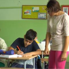 Deca migranti u školskim klupama Banje Koviljače